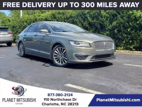 2017 Lincoln MKZ for sale at Planet Automotive Group in Charlotte NC