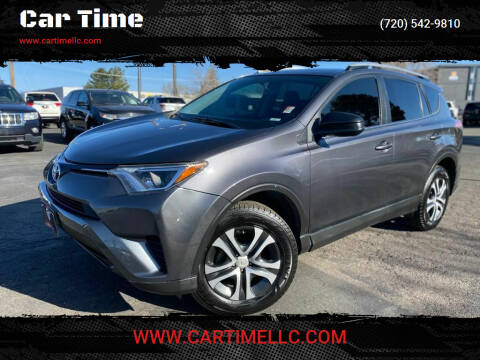 2016 Toyota RAV4 for sale at Car Time in Denver CO