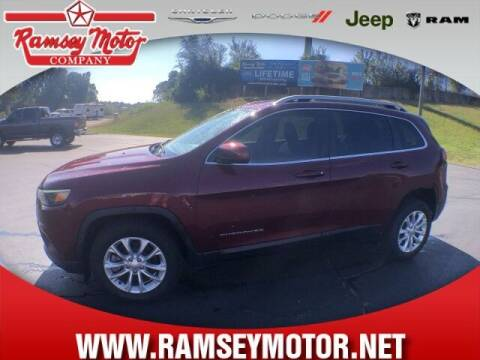 2019 Jeep Cherokee for sale at RAMSEY MOTOR CO in Harrison AR