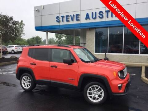 2019 Jeep Renegade for sale at Austins At The Lake in Lakeview OH