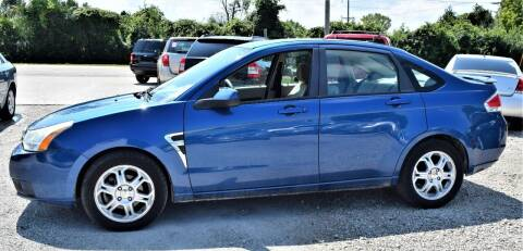 2008 Ford Focus for sale at PINNACLE ROAD AUTOMOTIVE LLC in Moraine OH