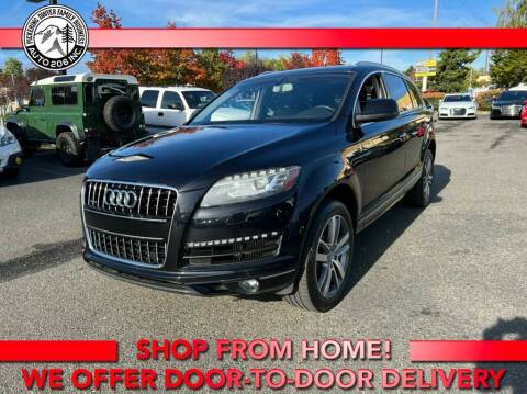 2013 Audi Q7 for sale at Auto 206, Inc. in Kent WA