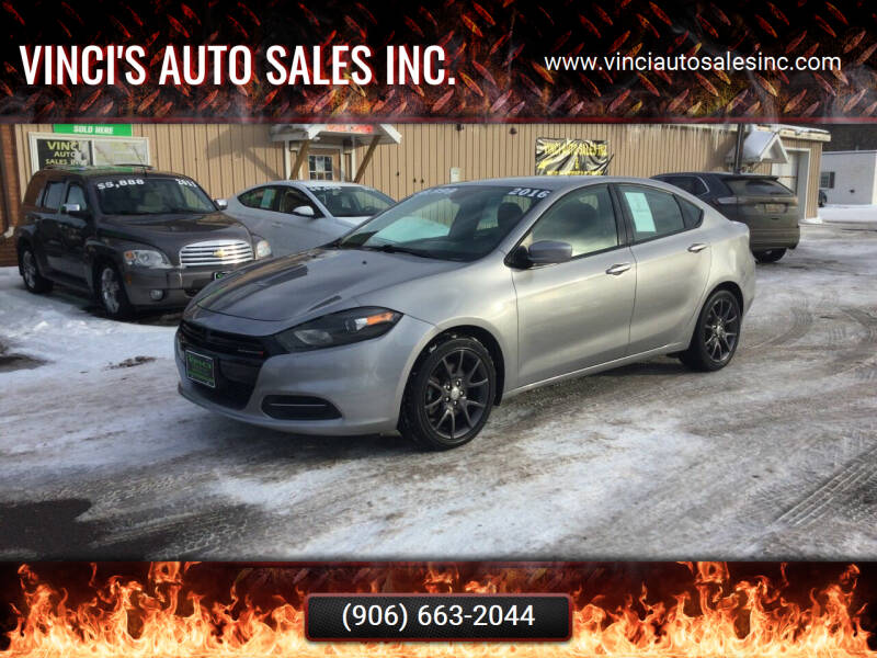 2016 Dodge Dart for sale at Vinci's Auto Sales Inc. in Bessemer MI