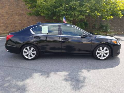 2014 Acura RLX for sale at Lehigh Valley Autoplex, Inc. in Bethlehem PA