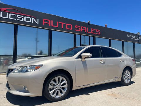 2013 Lexus ES 300h for sale at Tucson Auto Sales in Tucson AZ