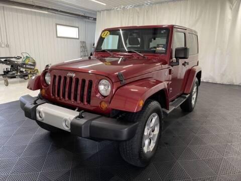 2013 Jeep Wrangler for sale at Monster Motors in Michigan Center MI
