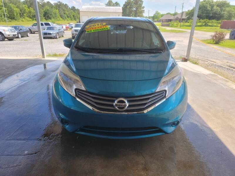 2015 Nissan Versa Note for sale at Auto Guarantee, LLC in Eunice LA