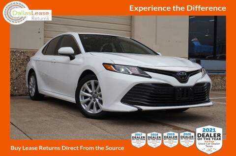 2020 Toyota Camry for sale at Dallas Auto Finance in Dallas TX