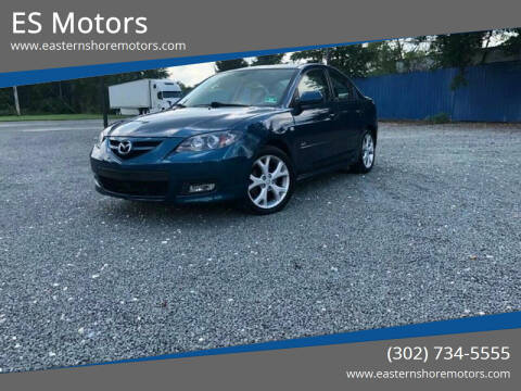2008 Mazda MAZDA3 for sale at ES Motors-DAGSBORO location - Dover in Dover DE