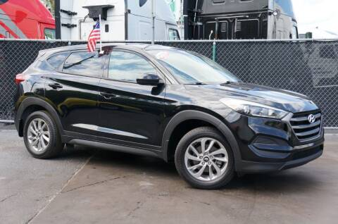 2016 Hyundai Tucson for sale at MATRIX AUTO SALES INC in Miami FL