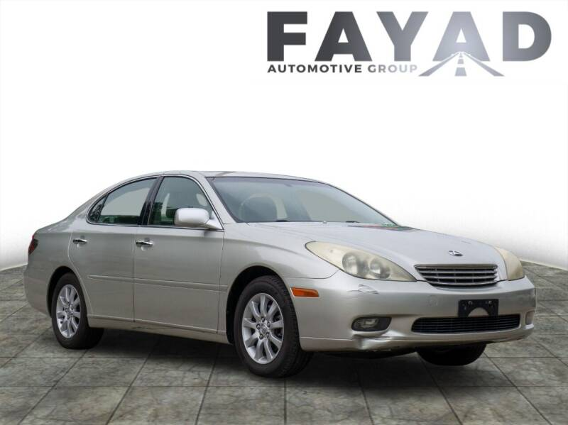 2004 Lexus ES 330 for sale at FAYAD AUTOMOTIVE GROUP in Pittsburgh PA