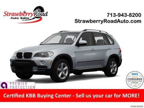 2007 BMW X5 for sale at Strawberry Road Auto Sales in Pasadena TX