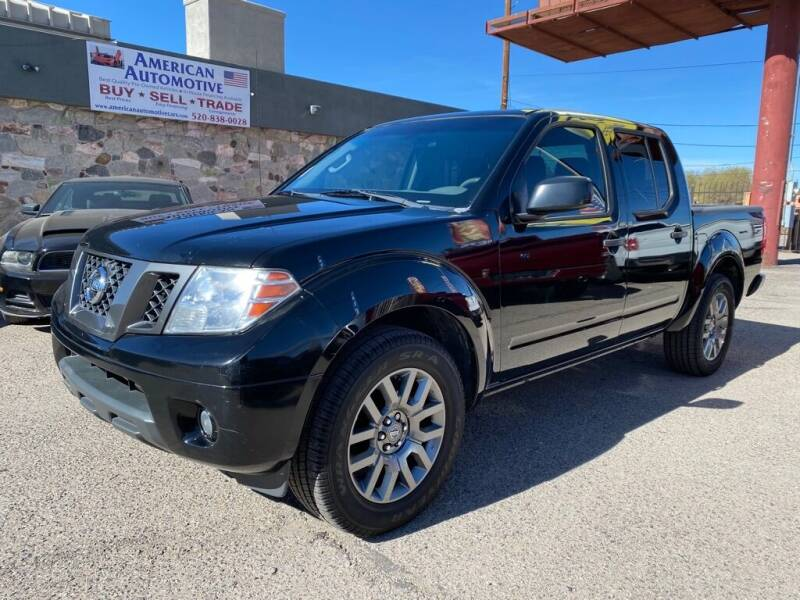 2012 Nissan Frontier for sale at American Automotive , LLC in Tucson AZ