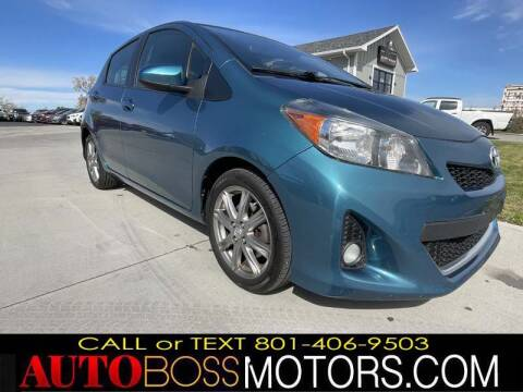 2012 Toyota Yaris for sale at Auto Boss in Woods Cross UT
