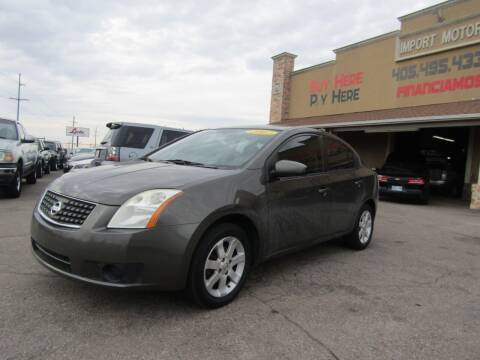 2007 Nissan Sentra for sale at Import Motors in Bethany OK