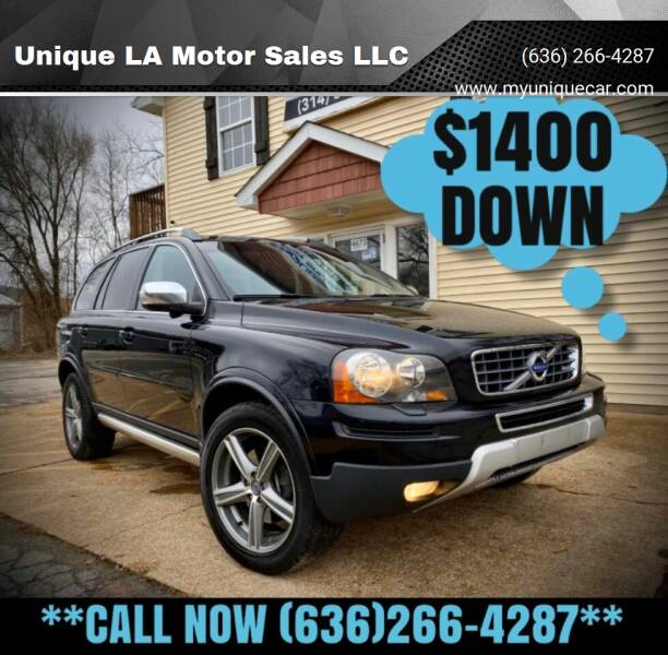 2011 Volvo XC90 for sale at Unique LA Motor Sales LLC in Byrnes Mill MO