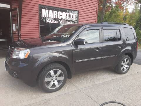 2013 Honda Pilot for sale at Marcotte & Sons Auto Village in North Ferrisburgh VT