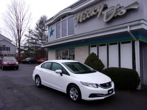 2015 Honda Civic for sale at Nicky D's in Easthampton MA