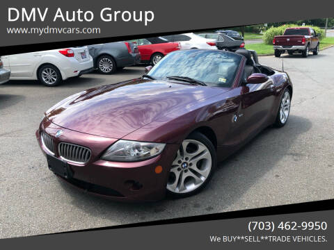 2005 BMW Z4 for sale at DMV Auto Group in Falls Church VA