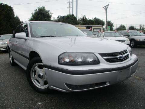 2002 Chevrolet Impala for sale at Unlimited Auto Sales Inc. in Mount Sinai NY