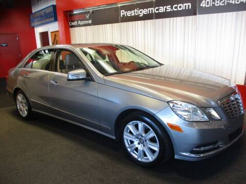 2013 Mercedes-Benz E-Class for sale at Prestige Motorcars in Warwick RI