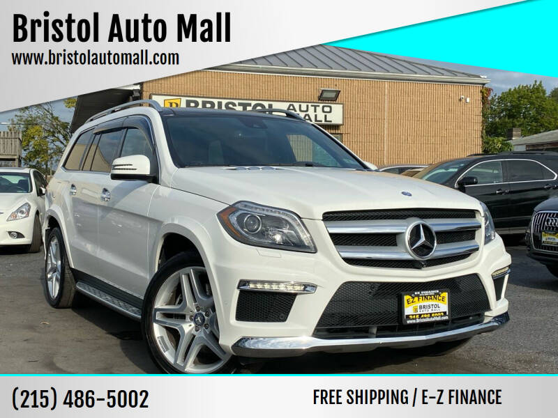 2015 Mercedes-Benz GL-Class for sale at Bristol Auto Mall in Levittown PA