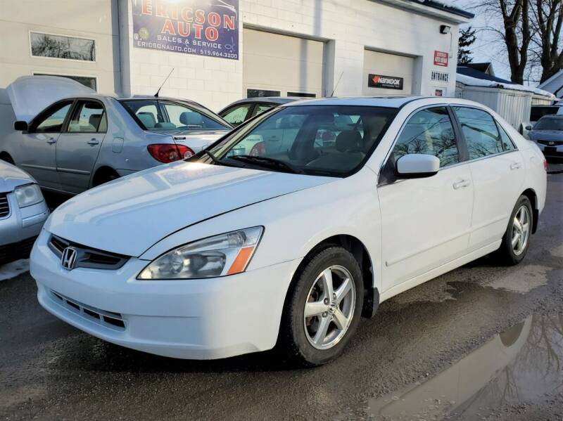 2003 Honda Accord for sale at Ericson Auto in Ankeny IA