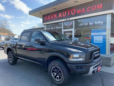 2017 RAM Ram Pickup 1500 for sale at Park Auto LLC in Palmer MA