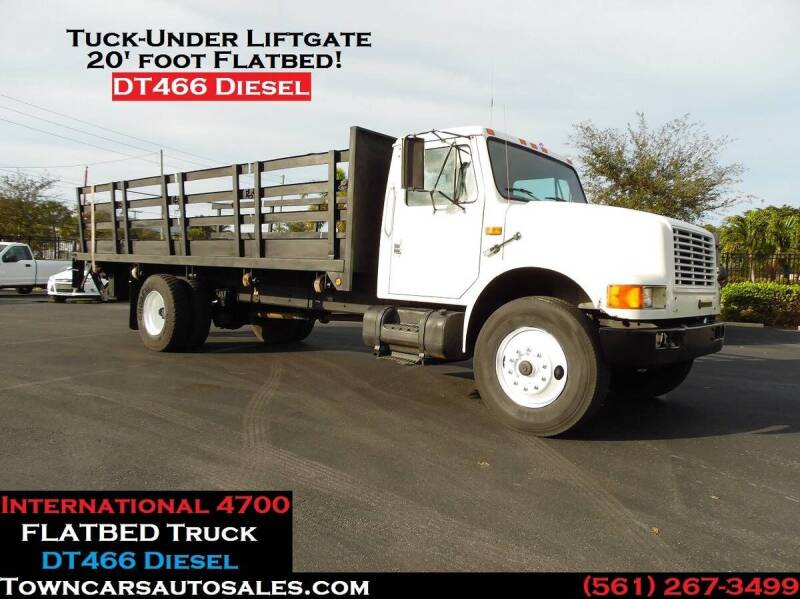 1993 International 4700 for sale at Town Cars Auto Sales in West Palm Beach FL