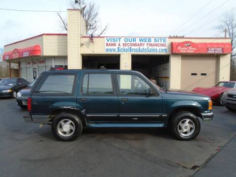 1994 Ford Explorer for sale at Bickel Bros Auto Sales, Inc in Louisville KY