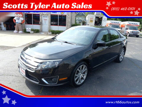 2010 Ford Fusion for sale at Scotts Tyler Auto Sales in Wilmington IL