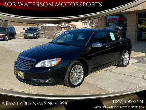 2011 Chrysler 200 for sale at Bob Waterson Motorsports in South Elgin IL