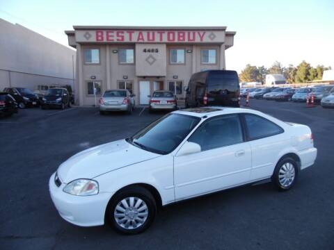 2000 Honda Civic for sale at Best Auto Buy in Las Vegas NV