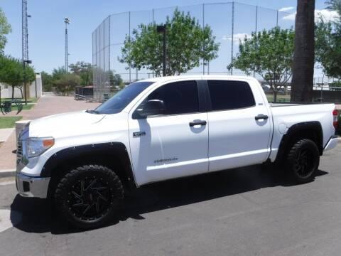 2016 Toyota Tundra for sale at J & E Auto Sales in Phoenix AZ