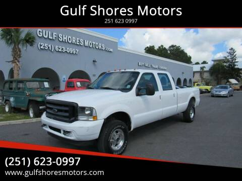 2003 Ford F-250 Super Duty for sale at Gulf Shores Motors in Gulf Shores AL