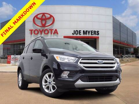 2018 Ford Escape for sale at Joe Myers Toyota PreOwned in Houston TX