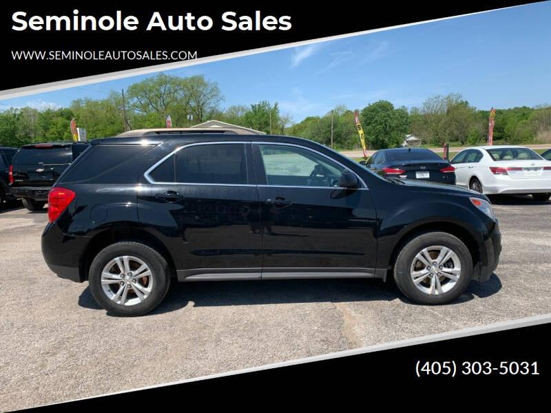 2015 Chevrolet Equinox for sale at Seminole Auto Sales in Seminole OK
