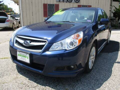 2011 Subaru Legacy for sale at Roland's Motor Sales in Alfred ME