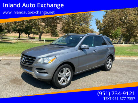 2013 Mercedes-Benz M-Class for sale at Inland Auto Exchange in Norco CA