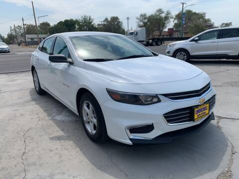 2018 Chevrolet Malibu for sale at CHURCHILL AUTO SALES in Fallon NV