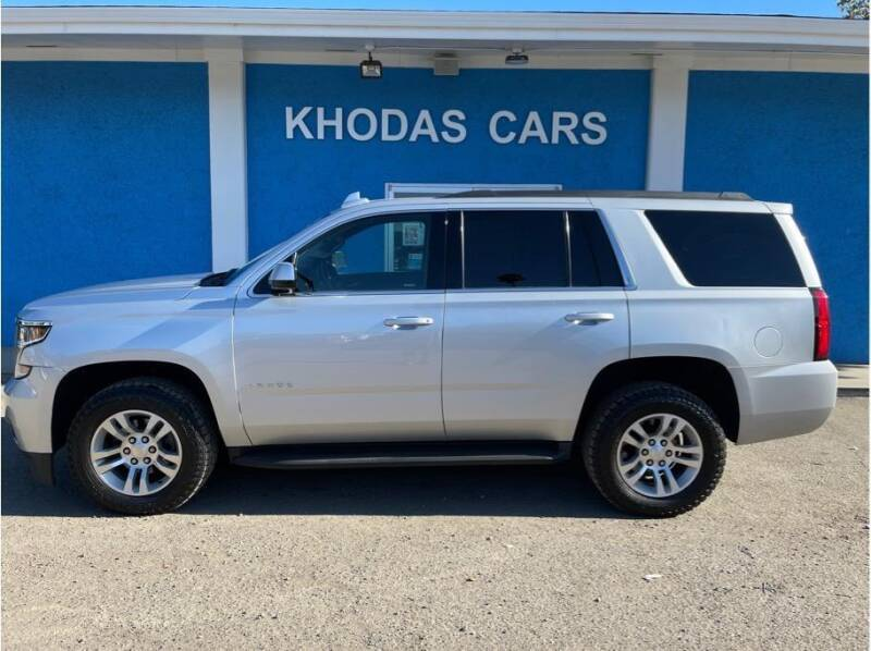 2019 Chevrolet Tahoe for sale at Khodas Cars in Gilroy CA
