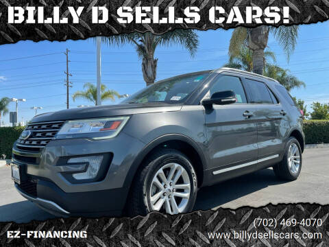 2017 Ford Explorer for sale at BILLY D SELLS CARS! in Temecula CA