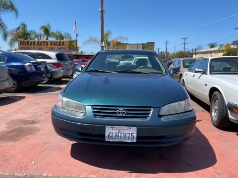 1998 Toyota Camry for sale at Paykan Auto Sales Inc in San Diego CA