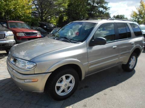 2002 Oldsmobile Bravada for sale at Precision Auto Sales of New York in Farmingdale NY