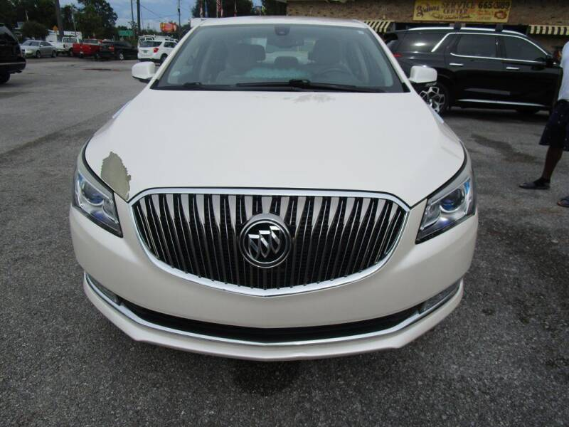 2014 Buick LaCrosse for sale at Downtown Motors in Milton FL