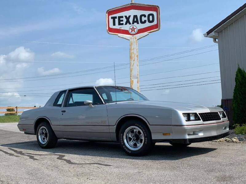 1985 Chevrolet Monte Carlo for sale at Belmont Classic Cars in Belmont OH
