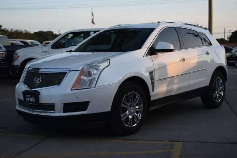 2012 Cadillac SRX for sale at Capital City Trucks LLC in Round Rock TX