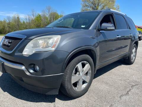 2012 GMC Acadia for sale at Best Buy Auto Sales in Murphysboro IL
