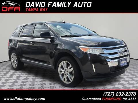 2011 Ford Edge for sale at David Family Auto in New Port Richey FL