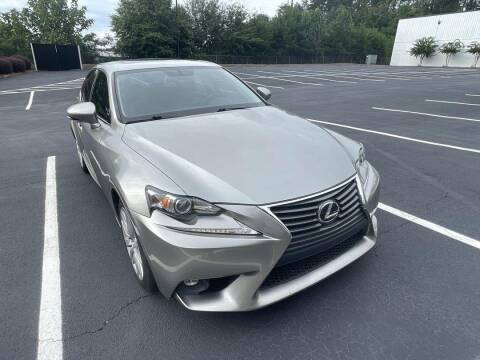 2016 Lexus IS 200t for sale at CU Carfinders in Norcross GA